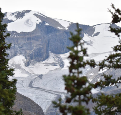 Photo of Mountain View from Peyto Lake Lookout on naturalcrooksdotcom
